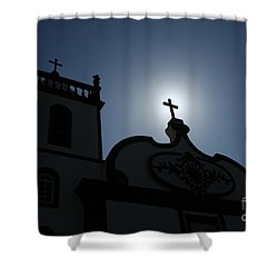 Divine Light Shower Curtain by Gaspar Avila