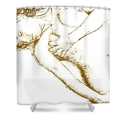 Divinity Shower Curtain by Richard Young
