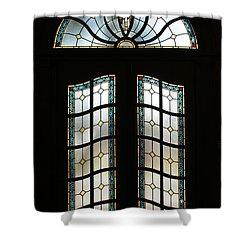 Doorway Shower Curtain by Sandy Keeton