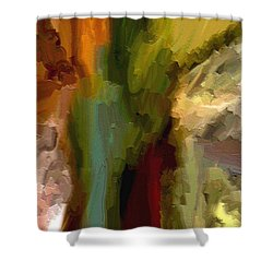 Double Indemnity Shower Curtain by Ely Arsha