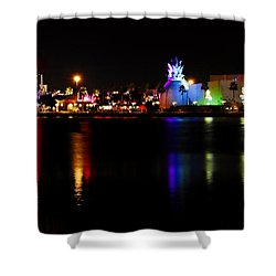 Downtown Disney  Shower Curtain by David Lee Thompson