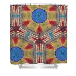 Dream Catcher IIi Shower Curtain by Maria Watt