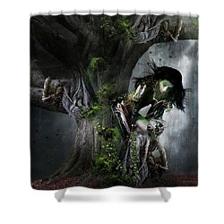 Dryad's Dance Shower Curtain by Mary Hood