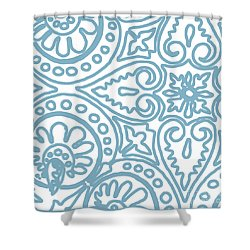 Dulce Shower Curtain by Mindy Sommers