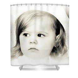 Easter Bonnet Shower Curtain by Trish Tritz