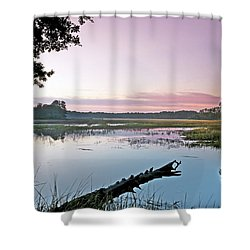 Eastern Morning Shower Curtain by Phill Doherty