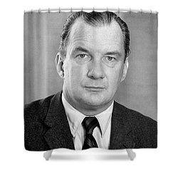Edward Bennett Williams Shower Curtain by Granger