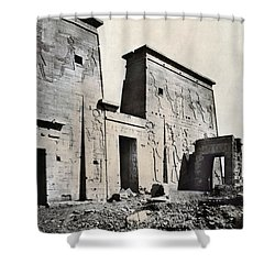 Egypt: Temple Of Isis Shower Curtain by Granger