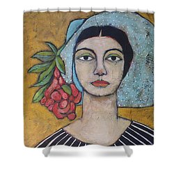 Eileen Shower Curtain by Jane Spakowsky