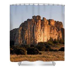 El Morro Shower Curtain by David Lee Thompson