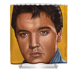 Elvis 24 1965 Shower Curtain by Rob De Vries