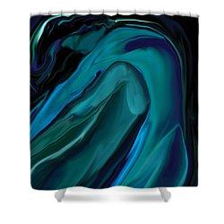 Emerald Love Shower Curtain by Rabi Khan