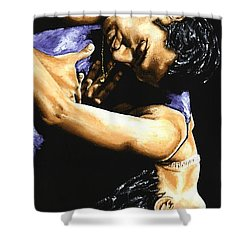 Emotional Tango Shower Curtain by Richard Young
