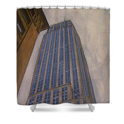 Empire State Building 2 Shower Curtain by Anita Burgermeister