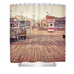 End Of Summer Shower Curtain by Heather Applegate