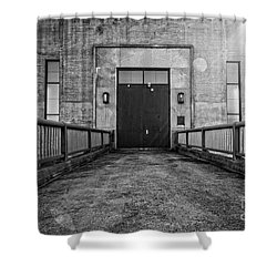 End Of The Line Shower Curtain by Edward Fielding