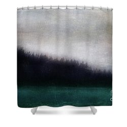 Enigma Shower Curtain by Priska Wettstein