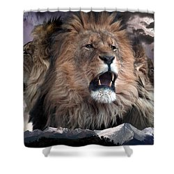 Enough Shower Curtain by Bill Stephens