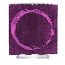 Enso 4 Shower Curtain by Julie Niemela