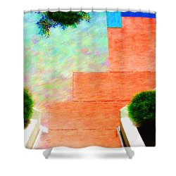Enter My Dream Shower Curtain by Paul Wear