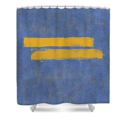 Equal Shower Curtain by Julie Niemela