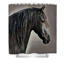 Equus Shower Curtain by Corey Ford