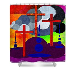 Eternal Consequences Shower Curtain by Glenn McCarthy Art and Photography