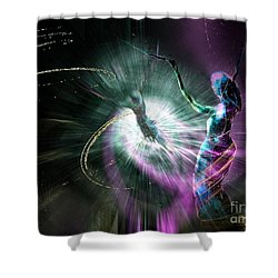 Eternel Feminin 02 Shower Curtain by Miki De Goodaboom