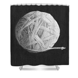 Eternity Shower Curtain by Jyvonne Inman