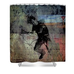 Even Flow Shower Curtain by Joel Witmeyer