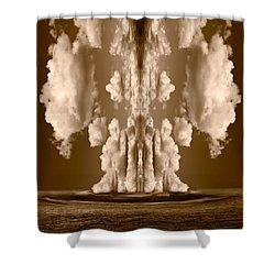 Explorations II Shower Curtain by Steve Gadomski