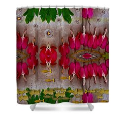 Eyes Made Of The Nature Shower Curtain by Pepita Selles
