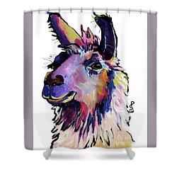 Fabio Shower Curtain by Pat Saunders-White