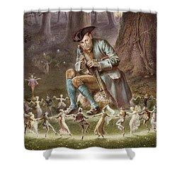 Fairy Dance Shower Curtain by William Holmes Sullivan
