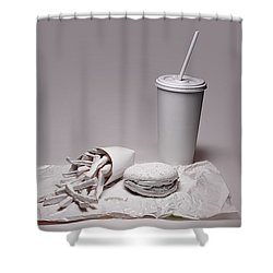 Fast Food Drive Through Shower Curtain by Tom Mc Nemar
