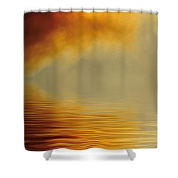 Filtered Sun Shower Curtain by Jerry McElroy