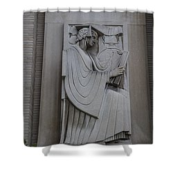 Fine Art Library Penn State  Shower Curtain by John McGraw