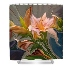 Finery Shower Curtain by Corey Ford