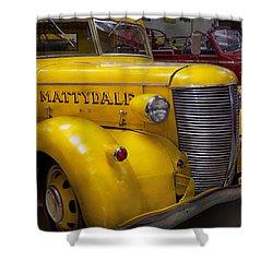 Fireman - Mattydale  Shower Curtain by Mike Savad