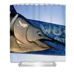 Fishing Charter Shower Curtain by David Lee Thompson