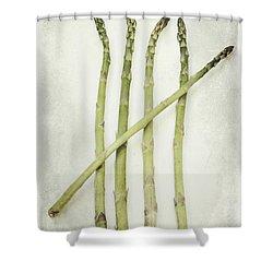 Five Shower Curtain by Priska Wettstein