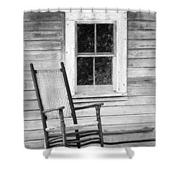 Florida Cracker House Shower Curtain by Patrick M Lynch
