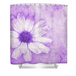 Flower Art II Shower Curtain by Angela Doelling AD DESIGN Photo and PhotoArt