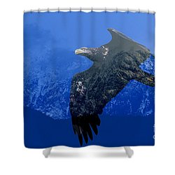 Fly Wild Fly Free Shower Curtain by Sharon Talson