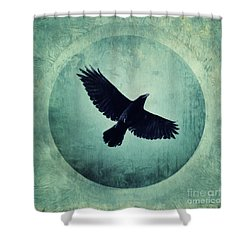 Flying High Shower Curtain by Priska Wettstein