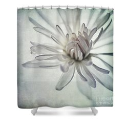 Focus On The Heart Shower Curtain by Priska Wettstein