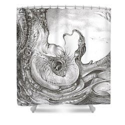 Fomorii Incubator Shower Curtain by Otto Rapp