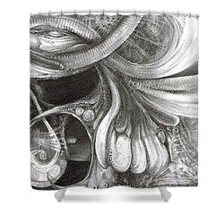 Fomorii Pod Shower Curtain by Otto Rapp