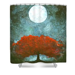 For Ever Shower Curtain by Wojtek Kowalski