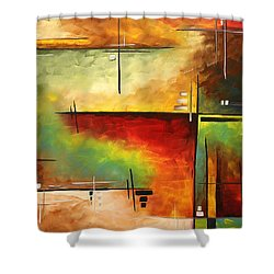 Forgotten Promise By Madart Shower Curtain by Megan Duncanson